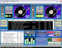 Virtual Deck DJ Mixing Suite